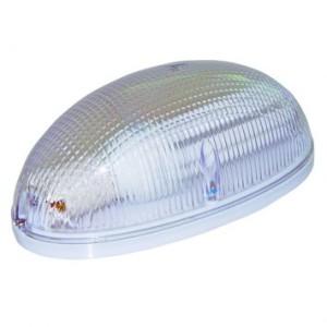 arandela oval acrilico