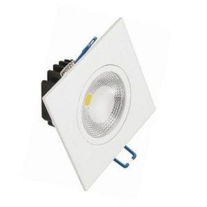 10047 - spot-quadrado-direcionado-cob-3w-branco-quente-andeli
