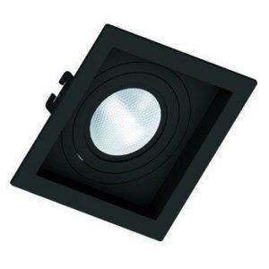 10336 - spot_embutir_par_20_quadrado_face_recuada_direcionavel_preto_save_energy