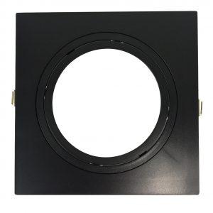 10657 - embutido-quadrado-face-plana-direcional-para-ar111-preto