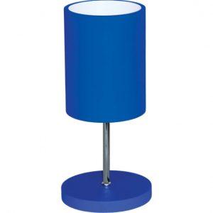 Abajur cilindro mini muller azul