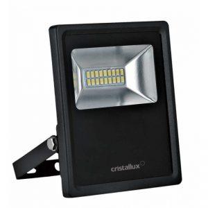10308 - REFLETOR LED SLIM 10W 5000K Biv 700LM - CRISTALUX-800x800