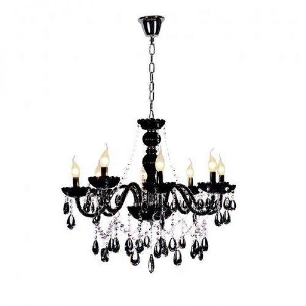 11480 - lustre-candelabro-cristal-8-bracos-nice-startec-preto